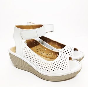 Clark's Reedly Salene Sandals Wedge Sandal
